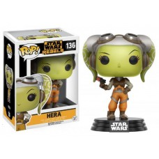 Funko Pop! Star Wars 136 Rebels Hera Vinyl Action Figure Bobble Head FU10774