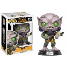 Funko Pop! Star Wars 137 Rebels Zeb Vinyl Action Figure Bobble Head FU10775