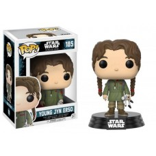 Funko Pop! Star Wars 185 Rogue One Young Jyn Erso Bobble Head Pop Vinyl FU14872