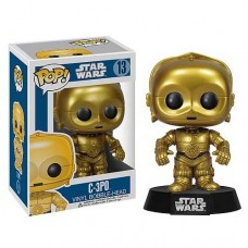 Blue Box Version Funko Pop! Star Wars 13 C-3PO C3PO C 3PO Vinyl Action Figure Bobble Head FU2387