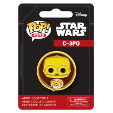 "Funko Pop! Pins Star Wars C-3PO 1.25"" Pop FU7284"