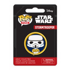 "Funko Pop! Pins Star Wars Stormtrooper Storm Trooper 1.25"" Pop FU7285"