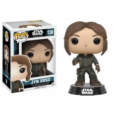 Funko Pop! Star Wars 138 Rogue One Jyn Erso Vinyl Action Figure Bobble Head FU10449