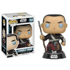 Funko Pop! Star Wars 140 Rogue One Chirrut Imwe Vinyl Action Figure Bobble Head FU10455
