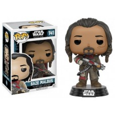 Funko Pop! Star Wars 141 Rogue One Baze Malbus Vinyl Action Figure Bobble Head FU10456