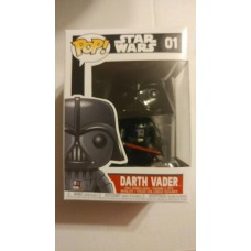 Funko Pop! Star Wars 01 Darth Vader Pop Vinyl Action Figure Bobble Head FU2300