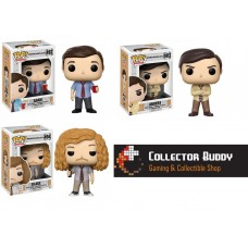 Funko Pop! All Three Television 492-494 Workaholics Adam Blake Anders Pop Vinyl Action Figures