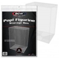 6 Pack of BCW Funko Pop! Semi-Rigid Acetate Figurine Display