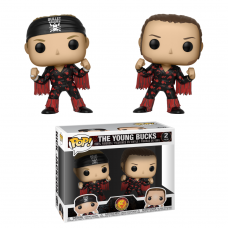 Funko Pop! King of Sports 2-Pack The Young Bucks Bullet Club Wrestling Pop