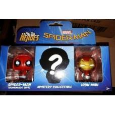Funko Pint Size Heroes 3PK Marvel Spider-man Ironman & Mystery Vinyl Figure