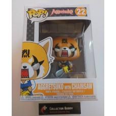 Funko Pop! Aggretsuko 22 with Chainsaw Animation Pop Vinyl Figure FU37599