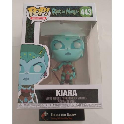 6a439ba1c65 Funko Pop! Animation 443 Rick and Morty Kiara Pop Vinyl Figure FU35594
