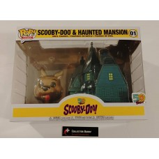 Funko Pop! Town 01 Scooby-Doo & Haunted Mansion Pop Scooby Doo Animation FU40203