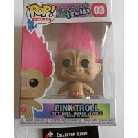 Funko Pop! Good Luck Trolls 03 Pink Troll Pop Vinyl Action Figures FU44605