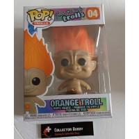 Funko Pop! Good Luck Trolls 04 Orange Troll Pop Vinyl Action Figures FU44606