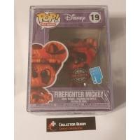 Funko Pop! Art Series 19 Disney Firefighter Mickey Special Edition Pop Artist FU55076