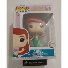 Funko Pop! Disney 563 The Little Mermaid Ariel with Bag Pop Vinyl Figure FU40102