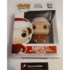 Funko Pop! Disney 611 The Santa Clause Movie Santa with Lights Pop Vinyl FU42601
