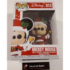 Funko Pop! Disney 612 Mickey Mouse Holiday Santa Bell Pop Vinyl Figure FU43327