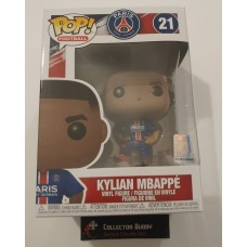 Funko Pop! Football 21 Paris Saint-Germain Kylian Mbappe Soccer Pop Figure FU39828