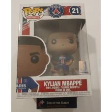 Funko Pop! Football 21 Paris Saint-Germain Kylian Mbappe Soccer Pop Figure FU39828