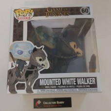 Funko Pop! Rides 60 Game of Thrones Mounted White Walker on Horse Pop Figure FU37669