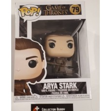 Damage Box Funko Pop! Game of Thrones 79 Arya Stark with Spear Pop Vinyl Figure FU44819
