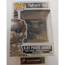 Funko Pop! Games 166 Fallout 4 X-01 Power Armor Pop Vinyl Action Figure Vaulted