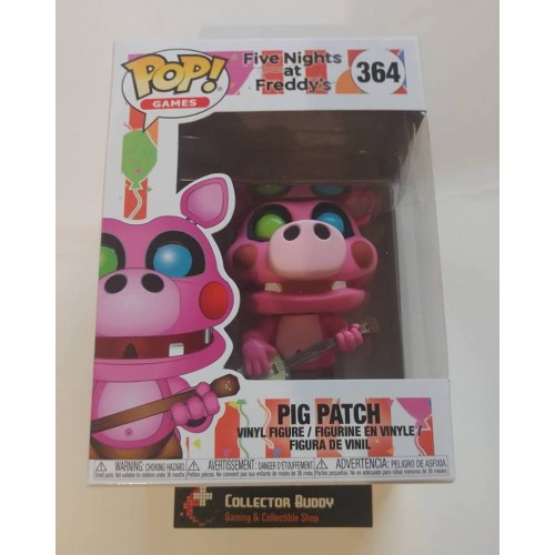 FIVE NIGHTS AT FREDDY/'S FUNKO POP 364 PIG PATCH MAIALE FIGURE FNAF VIDEOGAME