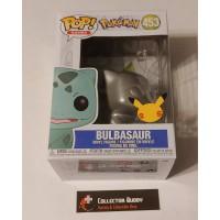 Mantellic Silver Funko Pop! Games 453 Pokemon Bulbasaur Pop 25th Anniversary FU55231