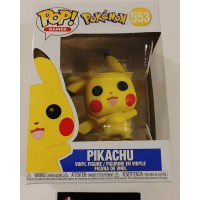Funko Pop! Games 553 Pokemon Pikachu Waving Pop Vinyl Figure FU43263