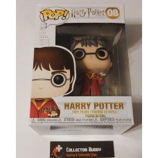 Funko Pop! Harry Potter 08 Harry Potter Quidditch WHITE Box Vinyl Figures FU5902