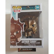 Funko Pop! Heroes 244 Aquaman Authur Curry Pop Figure Vinyl FU31176