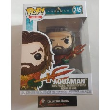 Funko Pop! Heroes 245 Aquaman Pop Figure Vinyl FU31177