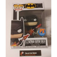 Funko Pop! Heroes 381 DC Death Metal Batman Guitar Solo PX Preview Exclusive Pop FU54718