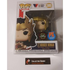 Limited Glow Chase Funko Pop! Heroes 385 Wonder Woman PX Preview Exclusive Pop