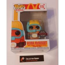 Funko Pop! Ad Icons 115 McDonald's Scuba McNugget Pop McDonalds Special Edition FU52990
