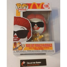 Funko Pop! Ad Icons 109 McDonald's Rock Out Ronald McDonald Pop McDonalds FU52991