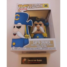 Funko Pop! Ad Icons 36 Cap'n Crunch Captain Pop Vinyl Figure FU36479