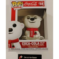 Funko Pop! Ad Icons 58 Coca Cola Polar Bear Pop Vinyl Figure FU41732