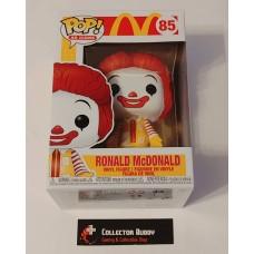 Damaged Box Funko Pop! Ad Icons 85 McDonald's Ronald McDonald Pop Vinyl Figure McDonalds FU45722