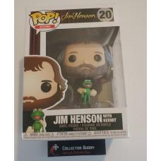 Damaged Box Funko Pop! Icons 20 Jim Henson with Kermit Muppet's Pop Vinyl Figure FU37287