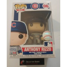 Funko Pop! MLB 06 Chicago Cubs Anthony Rizzo Baseball Pop Vinyl Figure FU37994