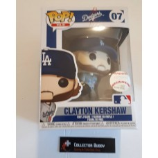 Funko Pop! MLB 07 LA Dodgers Clayton Kershaw Baseball Pop Figure FU37978
