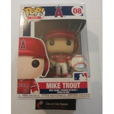 Funko Pop! MLB 08 Los Angeles Angels Mike Trout Baseball Pop Figure FU37996
