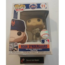 Funko Pop! MLB 11 New York Mets Noah Syndergaard Baseball Pop Figure FU37993