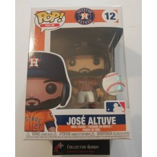 Funko Pop! MLB 12 Houston Astros Jose Altuve  Baseball Pop Figure FU37987