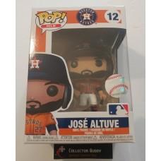 Funko Pop! MLB 12 Houston Astros Jose Altuve  Baseball Pop Figure FU37987