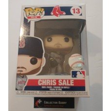 Funko Pop! MLB 13 Boston Red Sox Chris Sale Baseball Pop Figure Vinyl FU38730