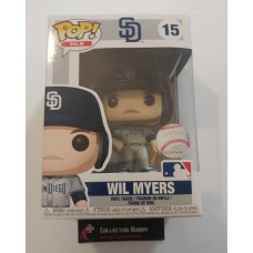 Funko Pop! MLB 15 San Diego Padres Wil Myers Baseball Pop Vinyl Figure FU37979